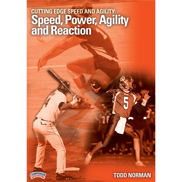 DVD - Cutting Edge Speed and Agility: Speed, Power, Agility and Reaction