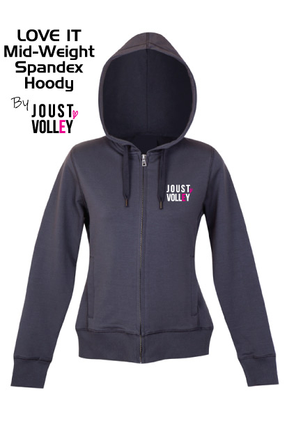 Joust Love It Stretch Zip Hoody