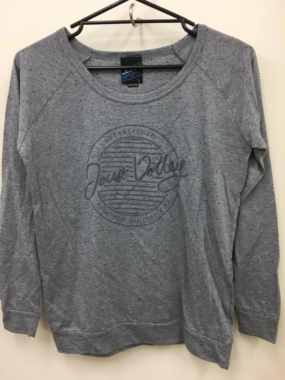 Joust Volley Circle Crew Neck - Light Grey