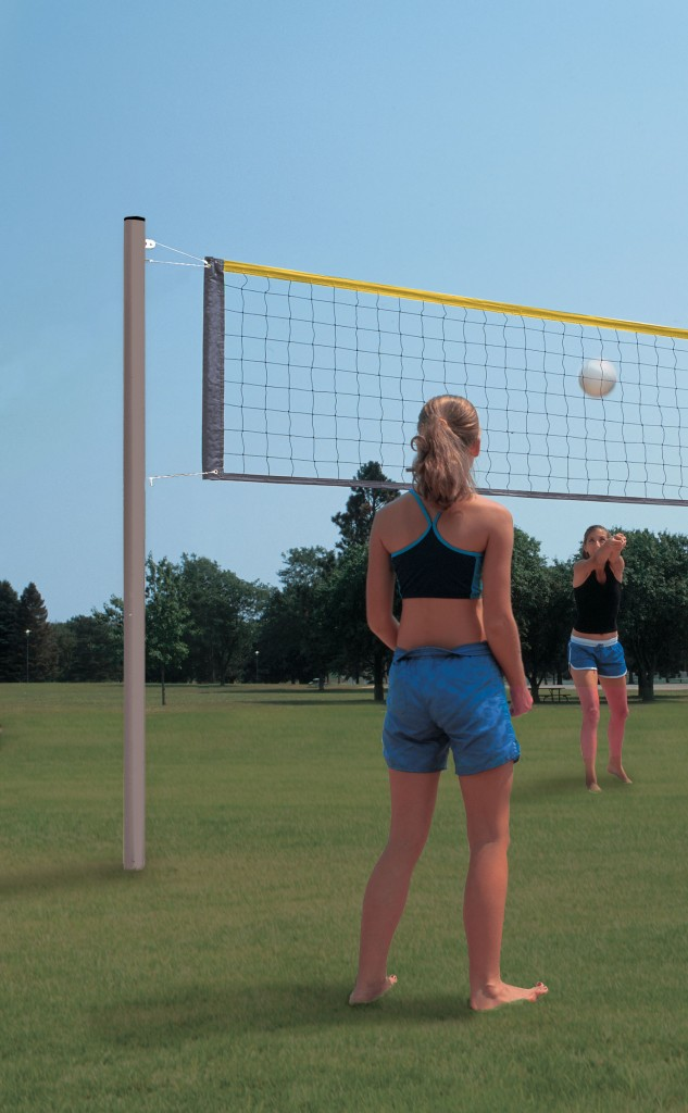 Bison Aluminum Recreational Volleyball System