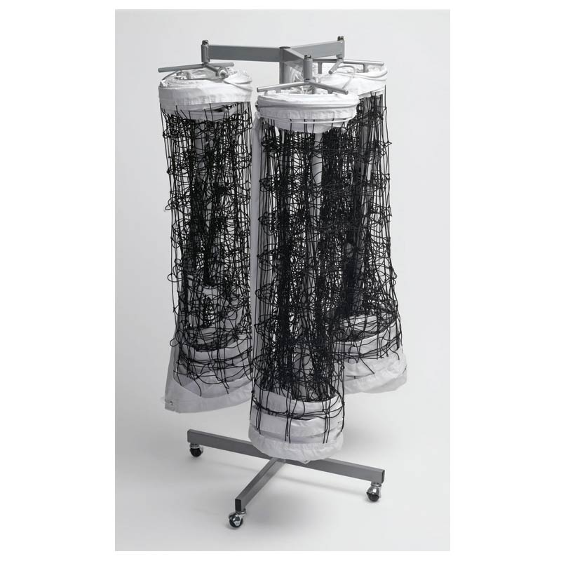 Tandem Triple Net Storage Rack
