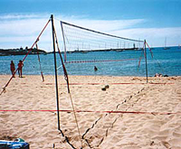 Joust Championship Series Beach Volleyball Kit -1